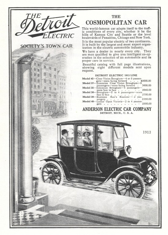 Detroit Electric Vehicles Anderson Carriage