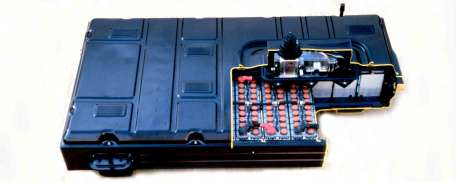 A typical electric battery made by Honda for their hybrids