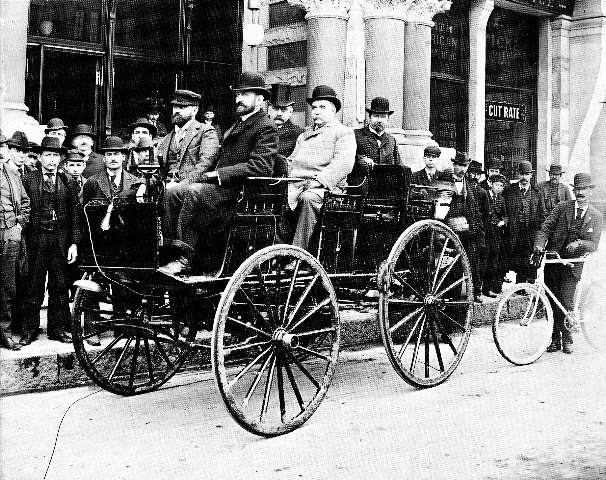 The First Successful Electric Car In United States Was Built Des Moines Iowa By William Morrison 1891 Four Horse Vehicle Had A Top Sd